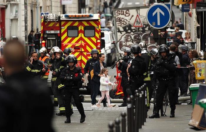 Liberan a rehenes en el centro de París y detienen al secuestrador. Foto: EFE