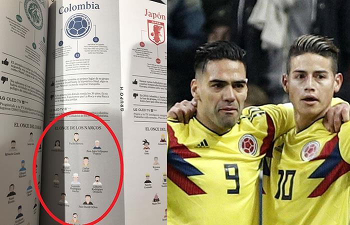 Selección Colombia: 'El once de narcos' que indigna a todo el país