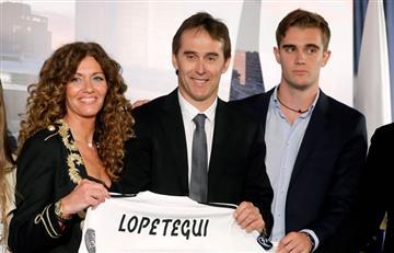 Julen Lopetegui fue presentado oficialmente como DT del Real Madrid
