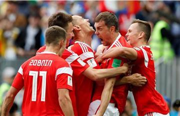 ¡La Selección Rusa hizo respetar su casa!