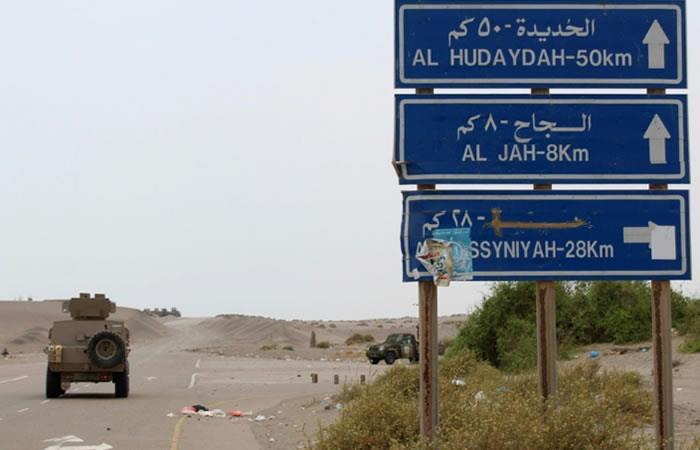 Ofensiva de la coalición para arrebatar puerto yemení de Hodeida a los rebeldes
