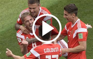 Rusia 2018: Así fue el primer gol del Mundial y este fue el jugador que lo hizo
