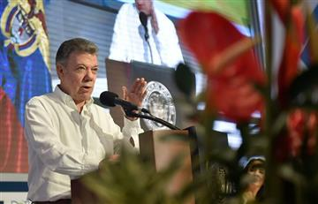 Santos ratifica que la consulta anticorrupción será para el 26 de agosto