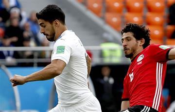 Egipto complicó a Uruguay pero al final la victoria fue 'charrúa'
