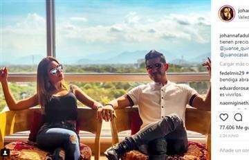 El beso de Silvestre Dangond y Johanna Fadul que incomodó a Juanse Quintero