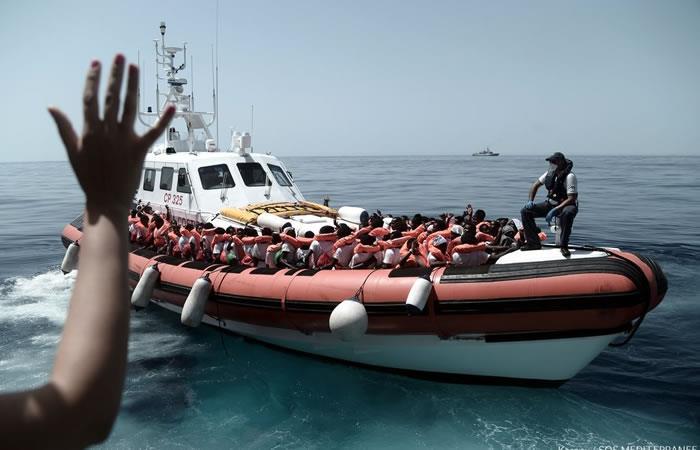 España no descarta expulsar a algunos de los migrantes del 'Aquarius'
