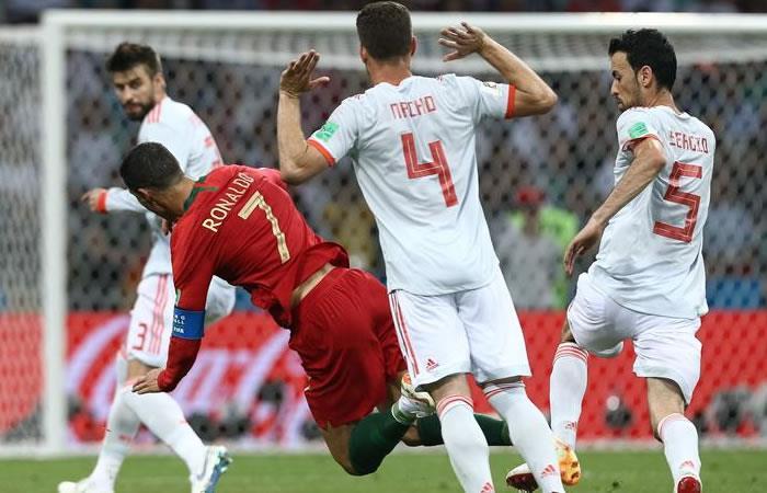 España y Portugal empataron en un partido que quedará en la historia