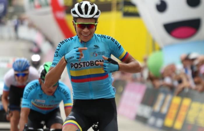 Giro de Italia Sub-23: ¡Cristian Muñoz ganó la octava etapa !
