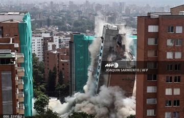 Medellín: Se derriba edificio Bernavento por fallas estructurales