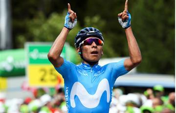 Nairo Quintana demuestra de qué está hecho y gana la etapa 7 del Tour de Suiza