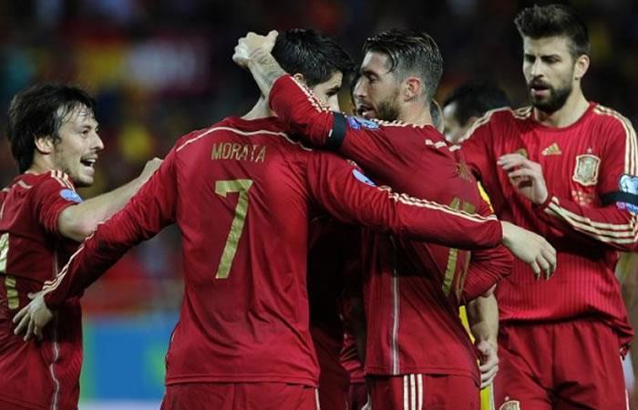Portugal y España duelo de titanes. Foto: AFP