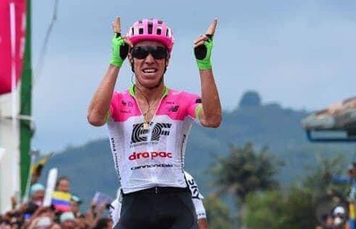 Tour de Eslovenia: Rigoberto Urán es líder en la clasificación general