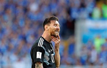 """Lionel Messi: """"Me duele haber errado el penalti"""""""