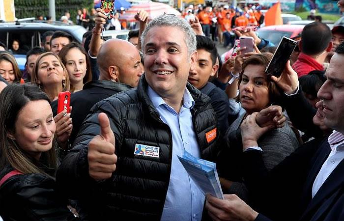 Iván Duque. Foto: EFE