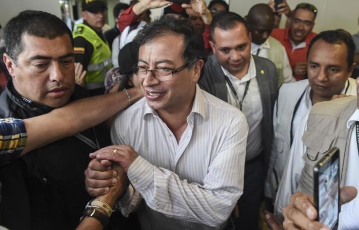 Gustavo Petro. Foto: AFP