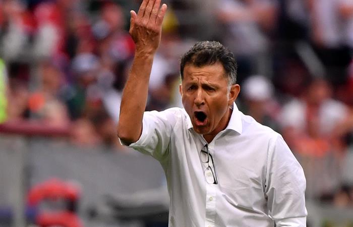 Juan Carlos Osorio y México vencieron a Alemania. Foto: AFP