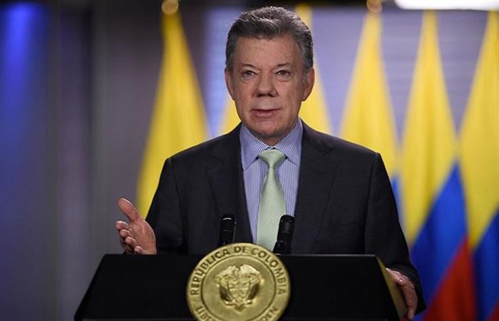Juan Manuel Santos estuvo 8 años en el poder. Foto: EFE