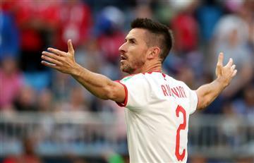 Serbia venció con un verdadero golazo a Costa Rica