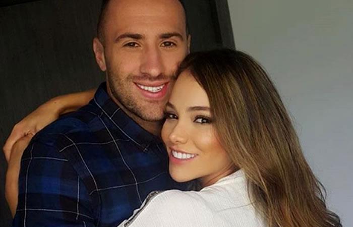 David Ospina y su esposa cumplieron 10 años de matrimonio.Foto:InstagramOficial