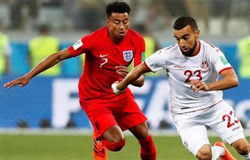 Inglaterra le ganó en el último minuto a la selección de Túnez