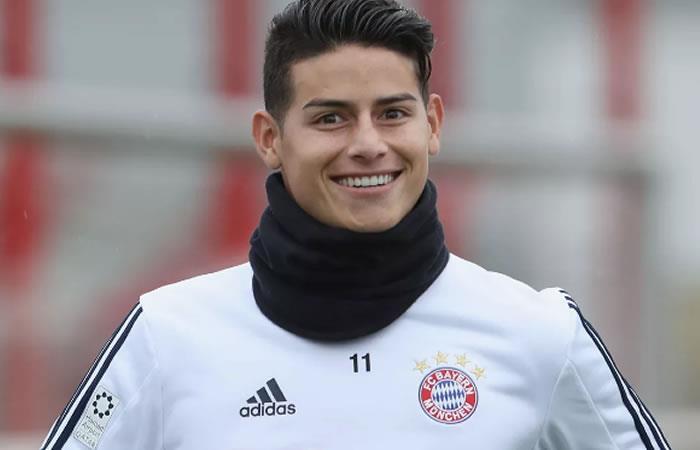 James Rodríguez saldría del Bayern Múnich pero no volería al Real Madrid