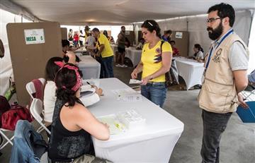 Las elecciones quedan por debajo del Mundial en Colombia