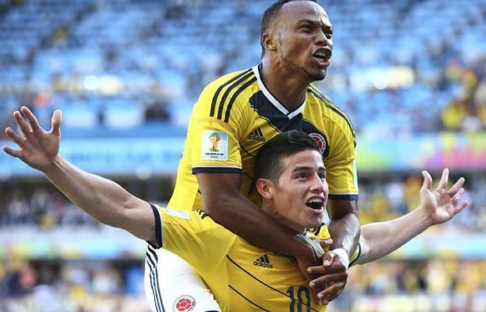 Selección Colombia: Así le fue a la 'tricolor' en su debut de Brasil 2014