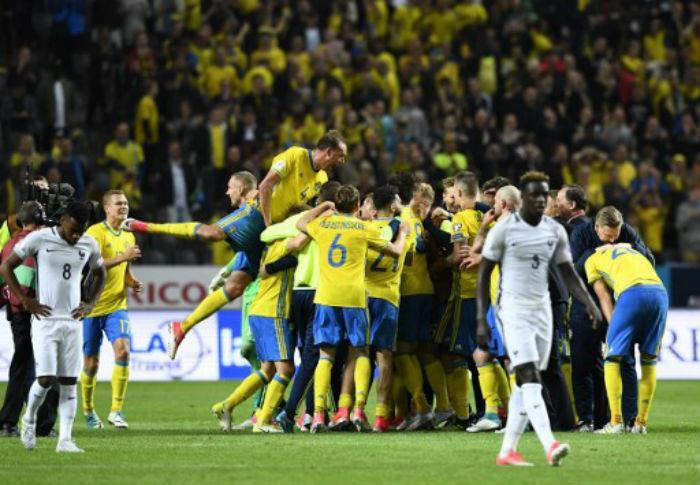 Suecia se medirá ante Corea de Sur. Foto: AFP