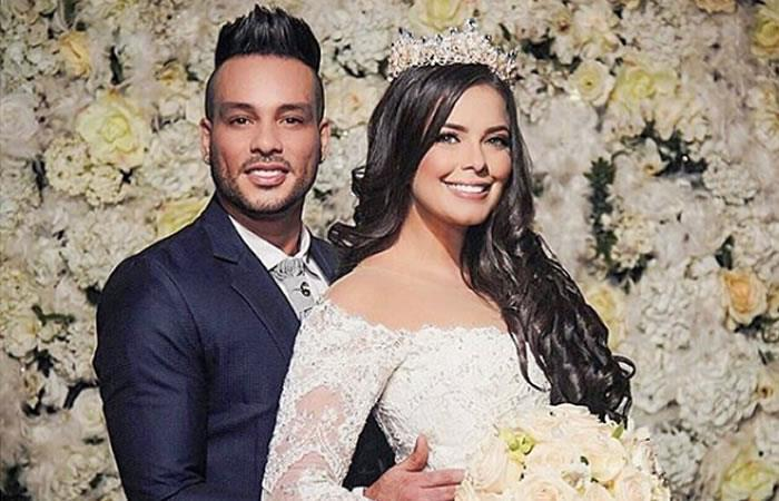 Twister El Rey reveló imágenes de su lujosa boda. Foto: Instagram