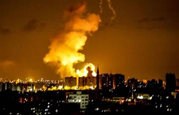 Aviación israelí lanza ataques contra objetivos sobre Gaza