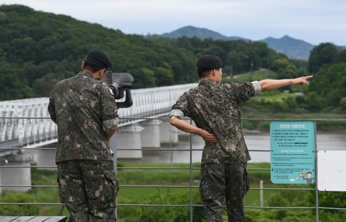 Corea del Sur efectúa ejercicios militares por un posible ataque de Japón