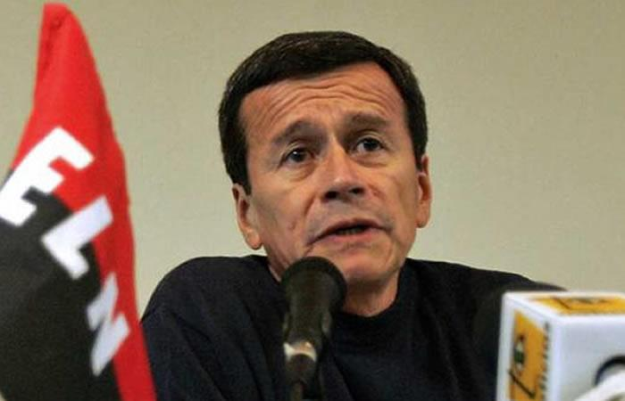 Pablo Beltrán, jefe negociador del ELN. Foto: AFP