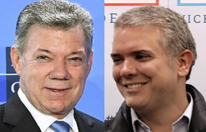 Santos y Duque harán el equipo de empalme. Foto: AFP