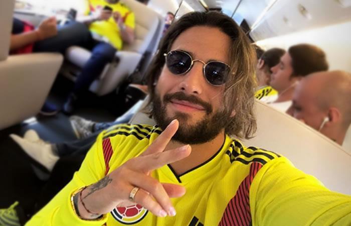 Roban a Maluma en Rusia mientras veía el partido de Colombia contra Japón