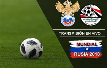 Rusia vs. Egipto: Transmisión EN VIVO online