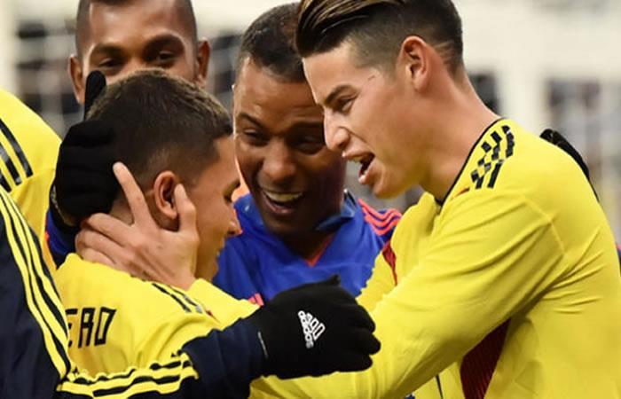 Selección Colombia: ¡Así fue el golazo de Juan Fernando Quintero!