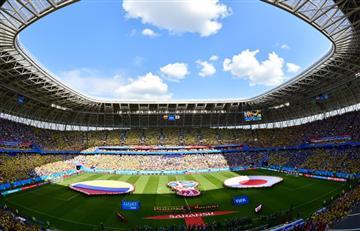 Selección Colombia: El himno nacional paralizó a Rusia