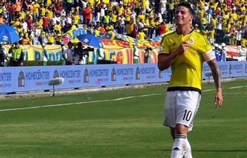 Selección Colombia: ¿Por qué James Rodríguez no fue titular?