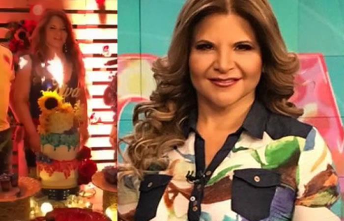 La Diva armó tremendo rumba para su cumpleaños. Foto: Instagram