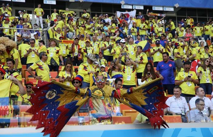 Cancillería rechaza el comportamiento de hinchas colombianos en el Mundial