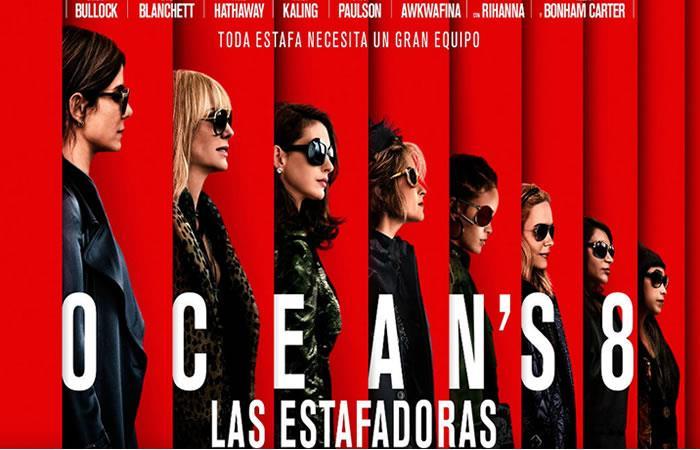 ¿Dónde ver Ocean's 8: Las Estafadoras?