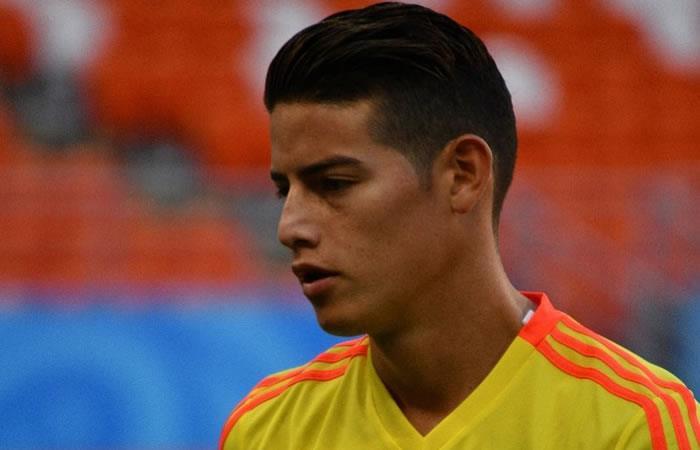 El emotivo mensaje de James Rodríguez tras la derrota de la selección Colombia
