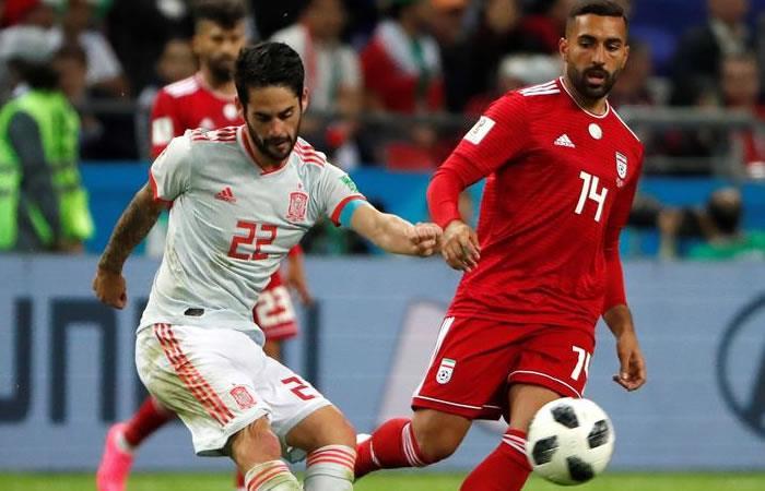 España le ganó a Irán y está cerca de los octavos de final