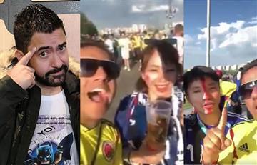 Iván Marín y el fuerte mensaje a quienes se burlaron de japoneses en Rusia