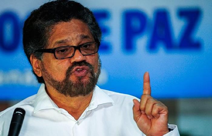 Iván Márquez asegura que el acuerdo de paz