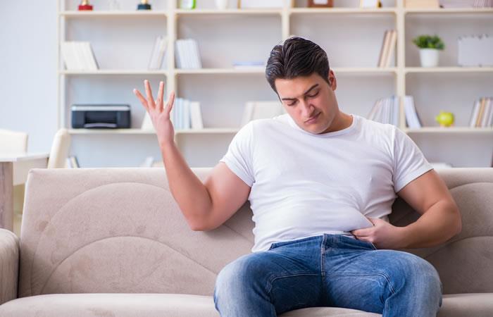 La barriga de papá es un riesgo para la salud