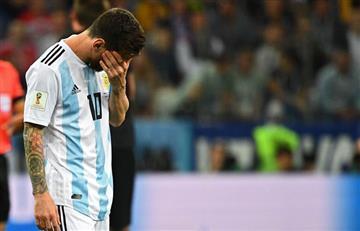 Argentina perdió contra Croacia y quedó con pie y medio afuera del Mundial