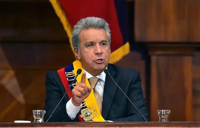 Lenín Moreno, presidente de Ecuador. Foto: AFP