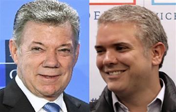 """Santos a Duque: """"No podrán acabar con los acuerdos de paz"""""""
