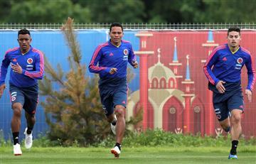 Selección Colombia entrenó con todos los jugadores pensando en Polonia